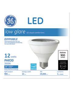GEL42133 LED PAR30 DIMMABLE WARM WHITE FLOOD LIGHT BULB, 2700K, 12 W