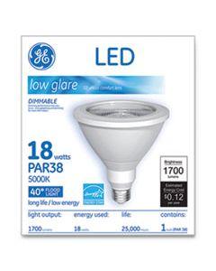 GEL65731 LED PAR38 DIMMABLE 40 DG DAYLIGHT FLOOD LIGHT BULB, 5000K, 18 W