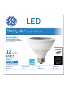 GEL84379 LED PAR30 DIMMABLE WARM WHITE FLOOD LIGHT BULB, 3000K, 12 W