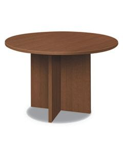 HONLMC48DF FOUNDATION ROUND CONFERENCE TABLE, 47 DIA X 29 1/2H, SHAKER CHERRY