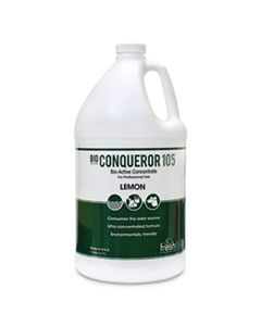 FRS1BWBCT BIO CONQUEROR 105 ENZYMATIC ODOR COUNTERACTANT CONCENTRATE, CITRUS, 128 OZ, 4/CARTON