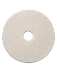 "AMF401213 POLISHING PADS, 13"" DIAMETER, WHITE, 5/CT"