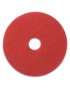 "AMF404413 BUFFING PADS, 13"" DIAMETER, RED, 5/CT"