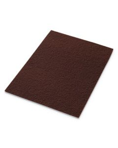 "AMF42071218 ECOPREP EPP SPECIALTY PADS, 12"" X 18"", MAROON, 10/CARTON"