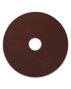 "AMF420720 ECOPREP EPP SPECIALTY PADS, 20"" DIAMETER, MAROON, 10/CT"