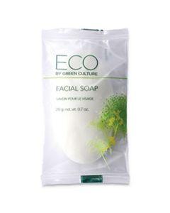 OGFSPEGCFL FACIAL SOAP BAR, CLEAN SCENT, 0.71 OZ PACK, 500/CARTON