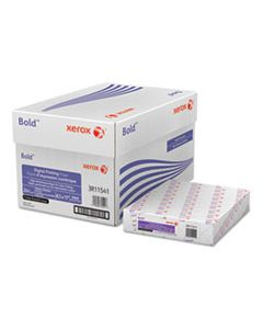 XER3R11541R BOLD DIGITAL PRINTING PAPER, 98 BRIGHT, 3-HOLE, 24LB, 8.5 X 11, WHITE, 500 SHEETS/REAM, 10 REAMS/CARTON