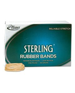 """ALL24165 STERLING RUBBER BANDS, SIZE 16, 0.03"""" GAUGE, CREPE, 1 LB BOX, 2,300/BOX"""