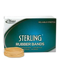 """ALL24335 STERLING RUBBER BANDS, SIZE 33, 0.03"""" GAUGE, CREPE, 1 LB BOX, 850/BOX"""
