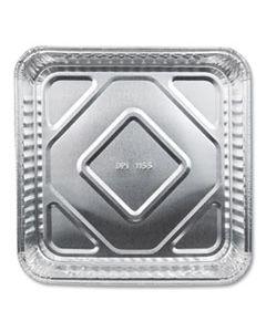 "DPK115535 ALUMINUM SQUARE CAKE PANS, 8"" X 8"", 500/CARTON"