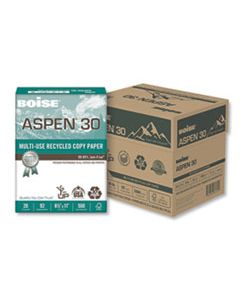 CAS054901JR ASPEN MULTI-USE RECYCLED PAPER, 92 BRIGHT, 20LB, 8.5 X 11, WHITE, 500 SHEETS/REAM, 5 REAMS/CARTON