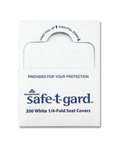 "GPC47047 SEAT COVERS SAFE-T-GARD, 17"" X 14.5"" WHITE, 25/CARTON"