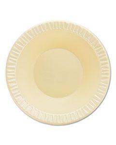 DCC12BWHQR QUIET CLASSIC LAMINATED FOAM DINNERWARE, BOWL, 12 OZ, 1000/CARTON