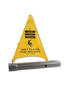 "FAO220SC POP UP SAFETY CONE, 3"" X 2 1/2"" X 20"", YELLOW"