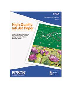 EPSS041111 HIGH QUALITY INKJET PAPER, 4.7 MIL, 8.5 X 11, MATTE WHITE, 100/PACK