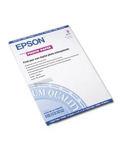 EPSS041156 GLOSSY PHOTO PAPER, 9.4 MIL, 11 X 17, GLOSSY WHITE, 20/PACK