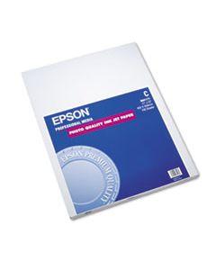 EPSS041171 MATTE PRESENTATION PAPER, 4.9 MIL, 17 X 22, MATTE BRIGHT WHITE, 100/PACK