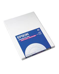 EPSS041260 PREMIUM MATTE PRESENTATION PAPER, 9 MIL, 11.75 X 16.5, BRIGHT WHITE, 50/PACK
