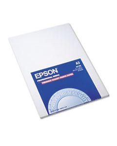 EPSS041288 PREMIUM PHOTO PAPER, 10.4 MIL, 11.75 X 16.5, HIGH-GLOSS WHITE, 20/PACK