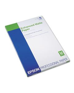EPSS041339 ULTRA PREMIUM MATTE PRESENTATION PAPER, 10 MIL, 13 X 19, MATTE WHITE, 50/PACK