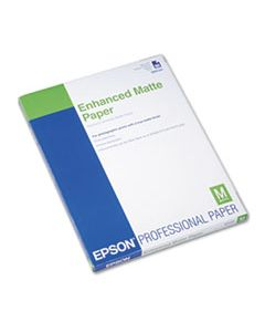EPSS041341 ULTRA PREMIUM MATTE PRESENTATION PAPER, 10 MIL, 8.5 X 11, MATTE WHITE, 50/PACK