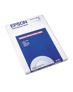 EPSS041406 ULTRA PREMIUM PHOTO PAPER, 10 MIL, 11.75 X 16.5, LUSTER WHITE, 50/PACK