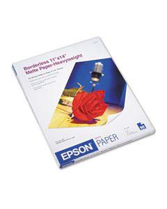 EPSS041468 PREMIUM MATTE PRESENTATION PAPER, 9 MIL, 11 X 14, MATTE BRIGHT WHITE, 50/PACK