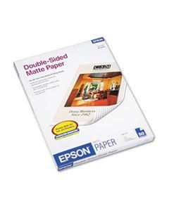 EPSS041568 PREMIUM MATTE PRESENTATION PAPER, 9 MIL, 8.5 X 11, MATTE BRIGHT WHITE, 50/PACK