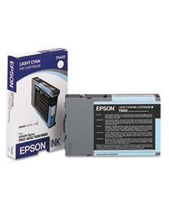 EPST543500 T543500 (T5435) INK, LIGHT CYAN