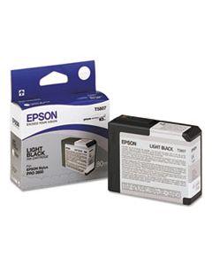 EPST580700 T580700 ULTRACHROME K3 INK, LIGHT BLACK