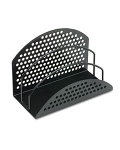 """FEL22311 PERF-ECT MINI SORTER, 3 SECTIONS, LETTER TO LEGAL SIZE FILES, 7"""" X 3.5"""" X 4.88"""", BLACK"""