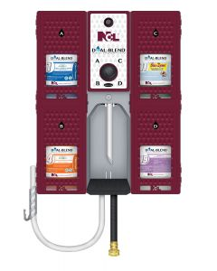 NCL-4113 NCL DUAL BLEND WALL DISPENSING UNIT, EA