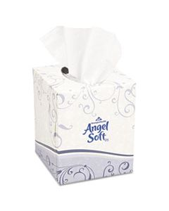 GPC46580BX PREMIUM FACIAL TISSUE, 2-PLY, WHITE, CUBE BOX, 96 SHEETS/BOX