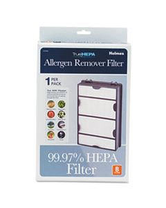 HLSHAPF600MU3 REPLACEMENT MODULAR HEPA FILTER FOR AIR PURIFIERS, 10 X 6 1/2 X 2