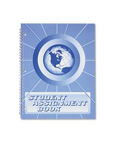 HUBSA98 STUDENT ASSIGNMENT BOOK, 40 WEEKS, 11 X 8-1/2, LAMINATED COVER