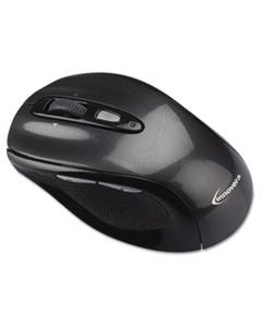 IVR61025 WIRELESS OPTICAL MOUSE WITH MICRO USB, 2.4 GHZ FREQUENCY/32 FT WIRELESS RANGE, LEFT/RIGHT HAND USE, GRAY/BLACK