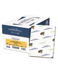 HAM103168CT COLORS PRINT PAPER, 20LB, 8.5 X 11, GOLDENROD, 500 SHEETS/REAM, 10 REAMS/CARTON