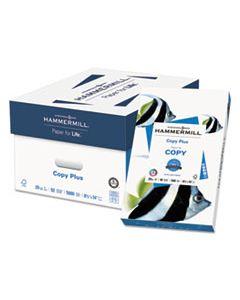 HAM105015CT COPY PLUS PRINT PAPER, 92 BRIGHT, 20LB, 8.5 X 14, WHITE, 500 SHEETS/REAM, 10 REAMS/CARTON