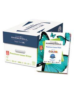 HAM107681 PREMIUM LASER PRINT PAPER, 98 BRIGHT, 3-HOLE, 24LB, 8.5 X 11, WHITE, 500/REAM