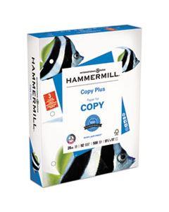 HAM105031 COPY PLUS PRINT PAPER, 92 BRIGHT, 3-HOLE, 20LB, 8.5 X 11, WHITE, 500/REAM