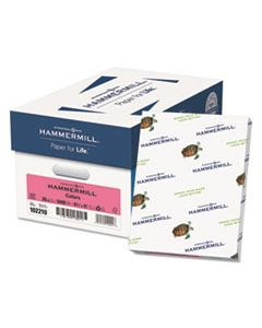 HAM102210CT COLORS PRINT PAPER, 20LB, 8.5 X 11, CHERRY, 500 SHEETS/REAM, 10 REAMS/CARTON