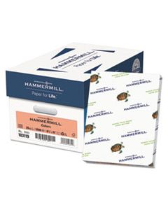 HAM103119CT COLORS PRINT PAPER, 20LB, 8.5 X 11, SALMON, 500 SHEETS/REAM, 10 REAMS/CARTON