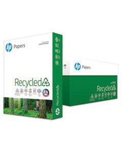 HEW112100 RECYCLED30 PAPER, 92 BRIGHT, 20LB, 8.5 X 11, WHITE, 500 SHEETS/REAM, 10 REAMS/CARTON