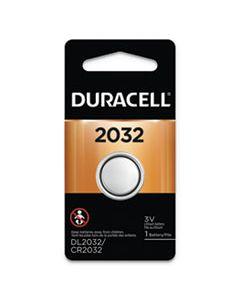 DURDL2032BPK LITHIUM COIN BATTERY, 2032, 6/BOX