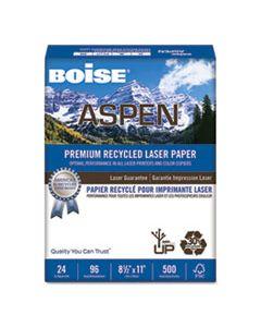 CASBPL2411RC ASPEN PREMIUM LASER PAPER, 96 BRIGHT, 24LB, 8.5 X 11, WHITE, 500/REAM