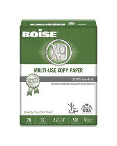 CASOX9001 X-9 MULTI-USE COPY PAPER, 92 BRIGHT, 20LB, 8.5 X 11, WHITE, 500 SHEETS/REAM, 10 REAMS/CARTON
