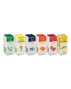 BTC17578 ASSORTED TEA PACKS, SIX FLAVORS, 28/BOX, 168/CARTON