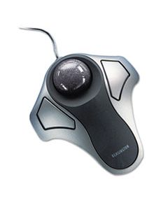 KMW64327 ORBIT OPTICAL TRACKBALL MOUSE, USB 2.0, LEFT/RIGHT HAND USE, BLACK/SILVER