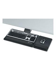 FEL8017901 DESIGNER SUITES PREMIUM KEYBOARD TRAY, 19W X 10.63D, BLACK