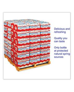 CGW24514 ALPINE SPRING WATER, 16.9 OZ BOTTLE, 24/CASE, 84 CASES/PALLET